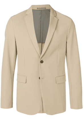 Theory plain buttoned blazer - Neutrals