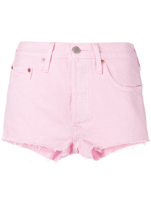 Levi's high-waisted shorts - Pink