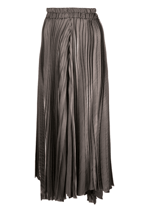 Dusan large pleated trousers - Grey