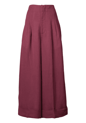 Golden Goose Deluxe Brand wide-leg flared trousers