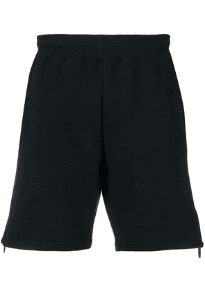 Cottweiler side zip shorts - Blue