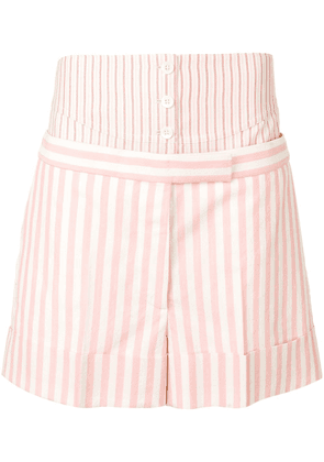 Thom Browne panelled tailored shorts - Pink