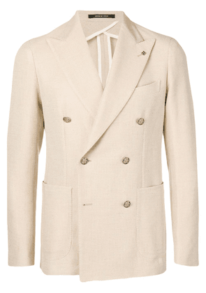 Tagliatore double-breasted blazer - Neutrals