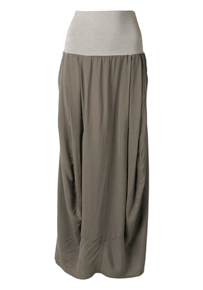 Transit curved maxi skirt - Grey