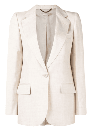 Stella McCartney linen blazer jacket - Neutrals