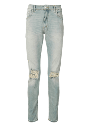 Represent ripped knee skinny jeans - Blue