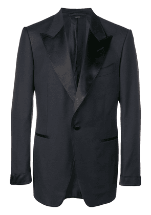 Tom Ford classic fitted blazer - Blue