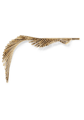 LELET NY - Quill Gold-plated Hair Slide - one size