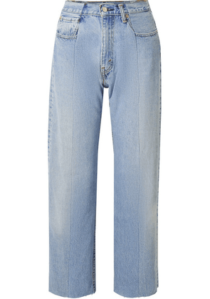 E.L.V. Denim - The Twin Boyfriend High-rise Straight-leg Jeans - Light denim