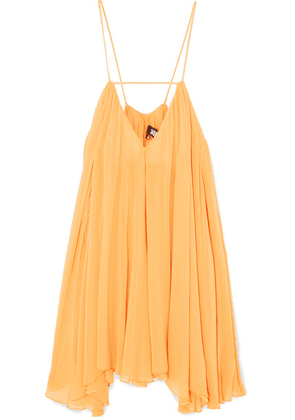 Jacquemus - Bellezza Chiffon Mini Dress - Orange