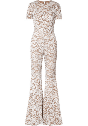 Michael Kors Collection - Guipure Lace Jumpsuit - White
