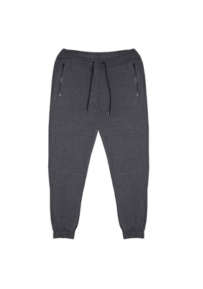 Wheelers.V Dark Grey Sweatpant with Double Layered Knee Piecing