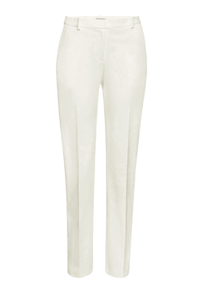 Theory Stretch Cotton Straight Leg Trousers