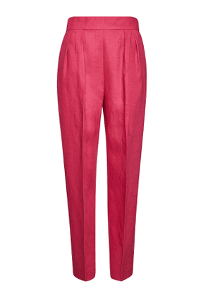 Theory High Waisted Linen Pants