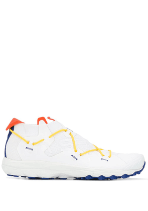 Barena crossed laces sneakers - White