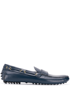 Car Shoe logo boat shoes - Blue