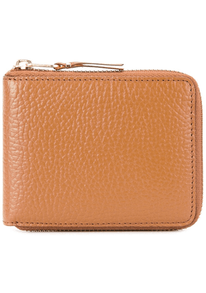 Comme Des Garçons Wallet zipped around wallet - Brown