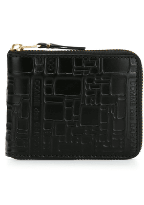 Comme Des Garçons Wallet zip around wallet - Black