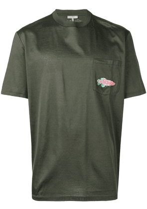 Lanvin embroidered T-shirt - Green
