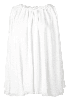 Co ruched blouse - White