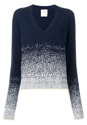 Barrie cashmere v-neck sweater - Blue