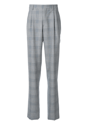 Calvin Klein 205W39nyc glen check tailored trousers - Grey