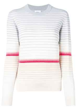 Barrie colour-block striped sweater - Neutrals