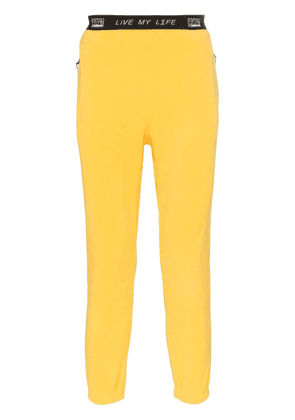 99% Is Zipper pocket fleece sweatpants - Yellow