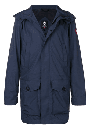 Canada Goose hooded coat - Blue