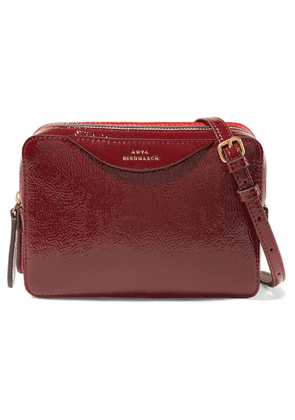 Anya Hindmarch - Paneled Textured-leather Shoulder Bag - one size