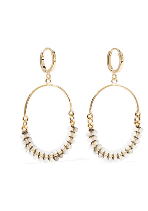 Isabel Marant - Gold-tone Horn Earrings - one size