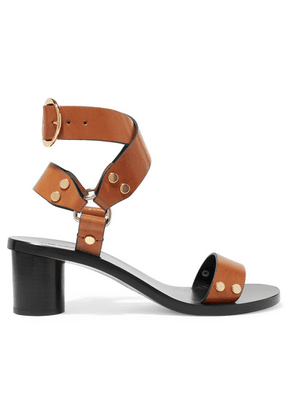 Isabel Marant - Jeyka Studded Leather Sandals - Brown