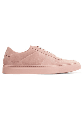 Common Projects - Bball Suede Sneakers - Blush