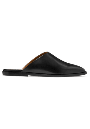 ATP Atelier - Anzi Leather Slippers - Black
