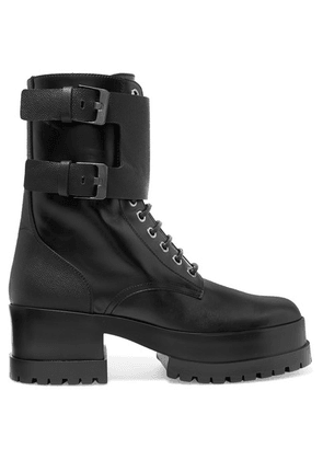 Clergerie - Willy Leather Ankle Boots - Black