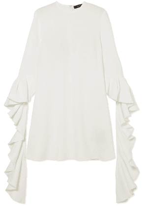 Ellery - Kilkenny Ruffled Crepe Mini Dress - Ivory