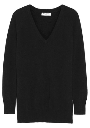 Equipment - Asher Oversized Cashmere Sweater - Black