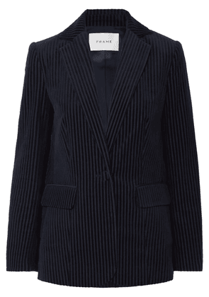 FRAME - Cotton-blend Corduroy Blazer - Navy