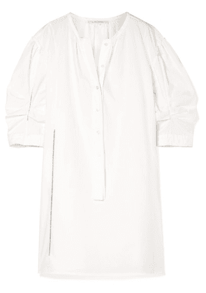 Marc Jacobs - Cotton-poplin Mini Dress - White