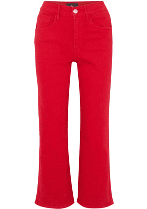 3x1 - W4 Shelter Cropped High-rise Flared Jeans - 24