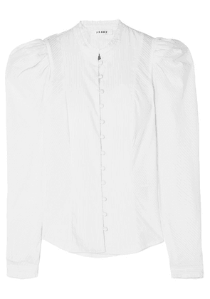 FRAME - Victorian Cotton-poplin Shirt - White
