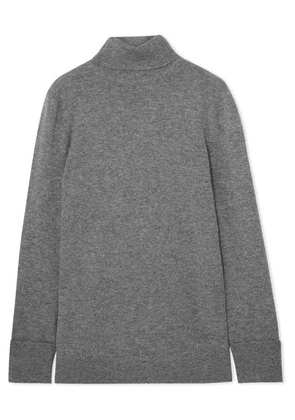 Equipment - Ully Cashmere Turtleneck Sweater - Gray