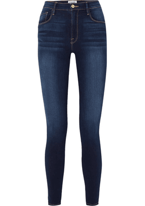 FRAME - Ali High-rise Skinny Jeans - Dark denim