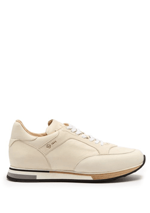 Dunhill - Duke Low Top Suede Trainers - Mens - White