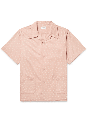 Chimala - Camp-collar Printed Woven Shirt - Pink