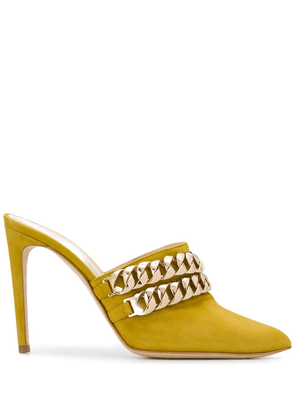 Chloe Gosselin Eva mule pumps - Yellow