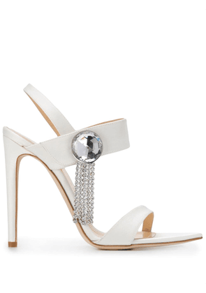 Chloe Gosselin embellished high heel sandals - White