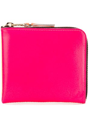 Comme Des Garçons Wallet small zip around wallet - Pink