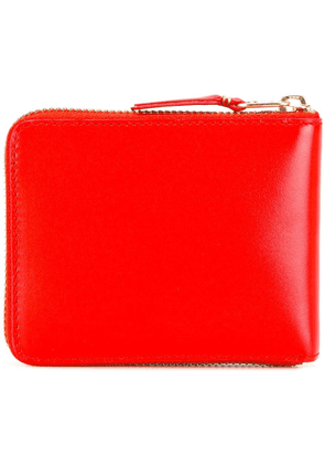 Comme Des Garçons Wallet zip around wallet - Red