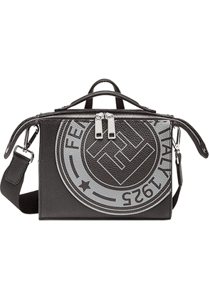 Fendi logo-stamp Lui bag - Black